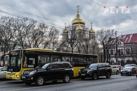 В центре Владивостока на время ограничат движение