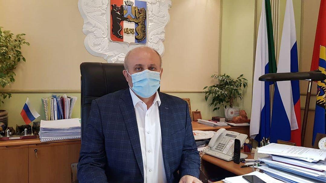 Мэр Хабаровска ушел на самоизоляцию из-за COVID-2019