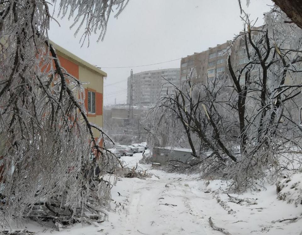 Новый ледяной коллапс грозит Приморью