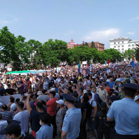 Митинг в день послания президента не согласовали в Приморье