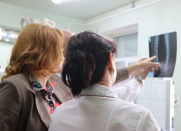 Приморская поликлиника участвует сразу в трех национальных проектах