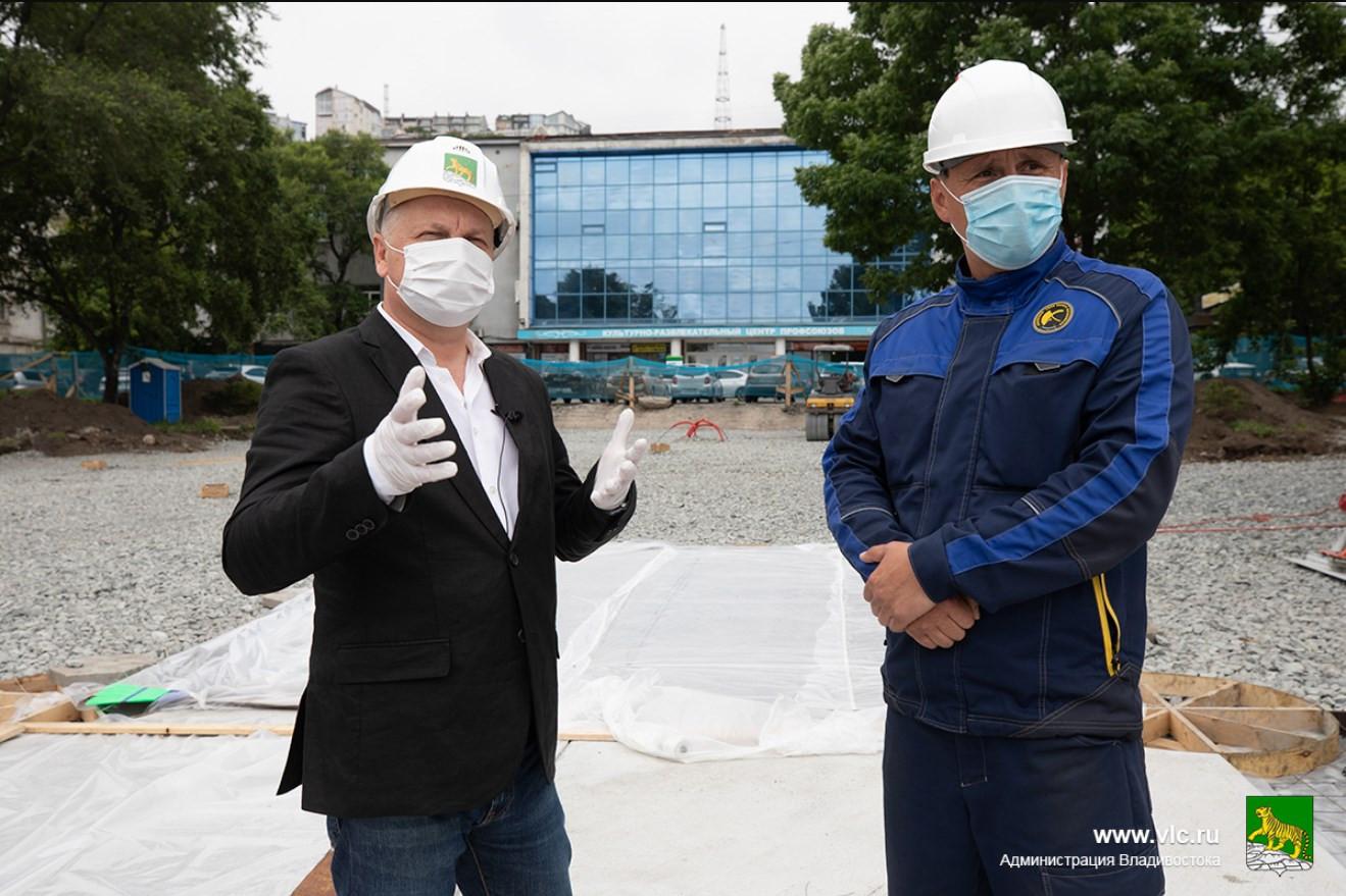 Преображение скверов во Владивостоке идёт полным ходом