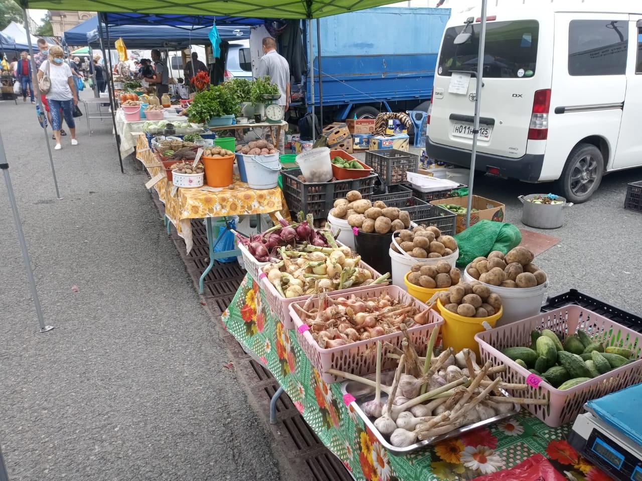В выходные пройдет «Фестиваль овощей» на центральной площади Владивостока