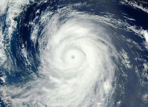 В Тихом океане формируется супертайфун