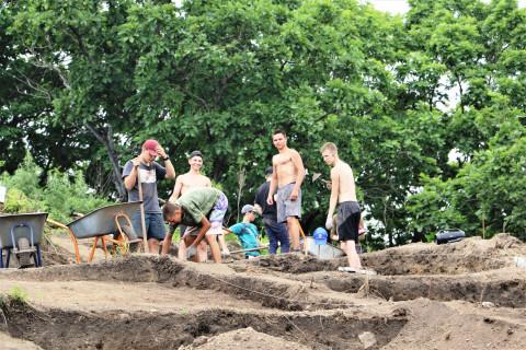 Кадеты из Артёма приняли участие в археологических раскопках на площадке НЗМУ