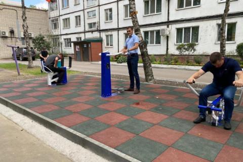 Новые спортивные площадки принимают в Уссурийске