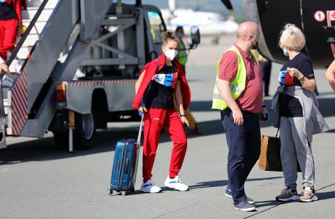 Российские олимпийцы отправились из Приморья в Японию