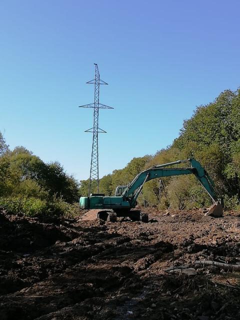 Протяженность строящейся линии электропередачи для ТОР «Николаевск» в Хабаровском крае будет увеличена на километр