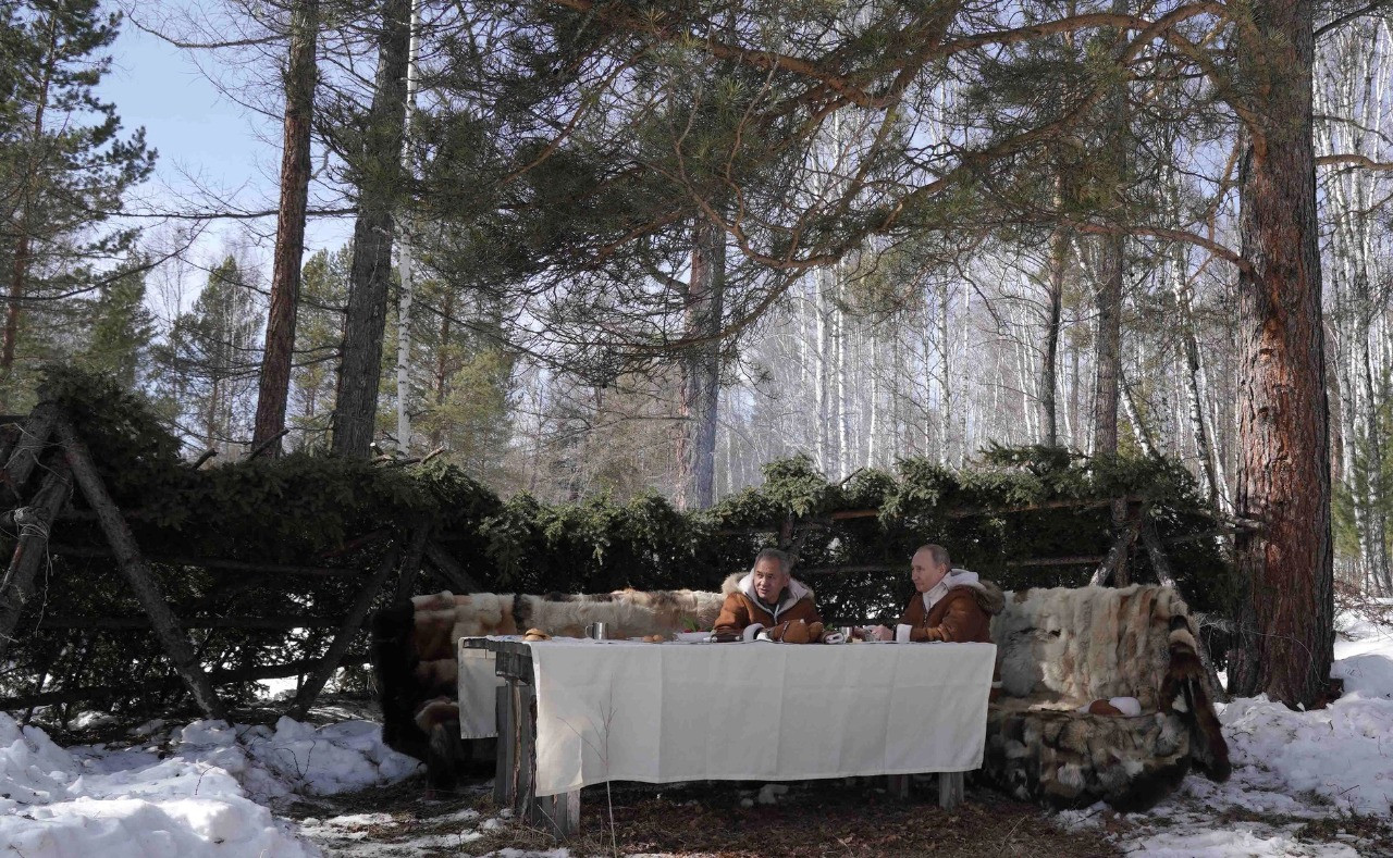 Фото отдыха Путина в лесу поразило россиян