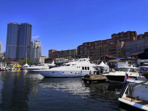 Во Владивостоке начала работу XII Международная выставка катеров и яхт «Vladivostok Boat Show»