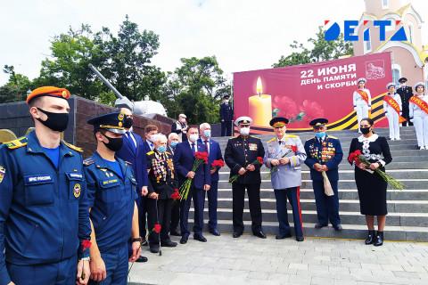 Мероприятие, посвященное Дню памяти и скорби, состоялось в Приморье