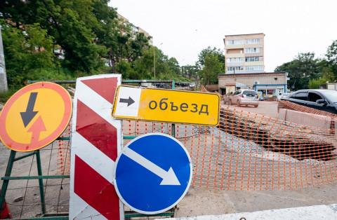 Новую ливневку строят во Владивостоке