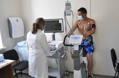 Велотренажер помогает диагностировать сердце в Приморья