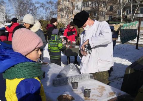Полевые кухни развернут в Первомайском районе Владивостока