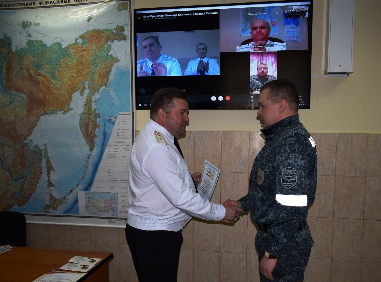 Лучших работников военизированной структуры наградили на Дальнем Востоке