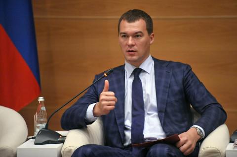 """Дегтярев захотел денег """"как в Приморье"""""""