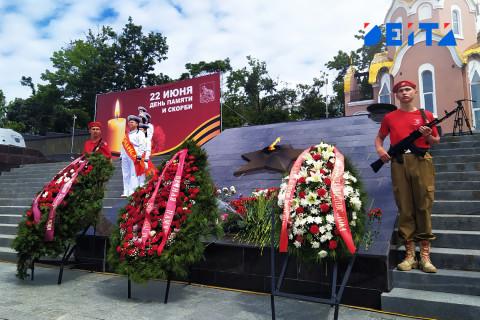 Приморье почтило подвиг народа в День памяти и скорби