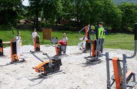 Для жителей села на севере Приморья оборудовали новую спортивную площадку