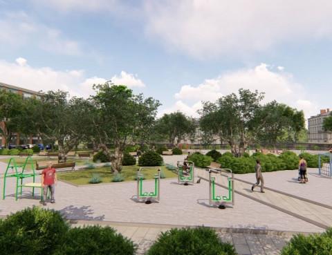 В Приморье благоустроят более 50 дворов, парков и скверов