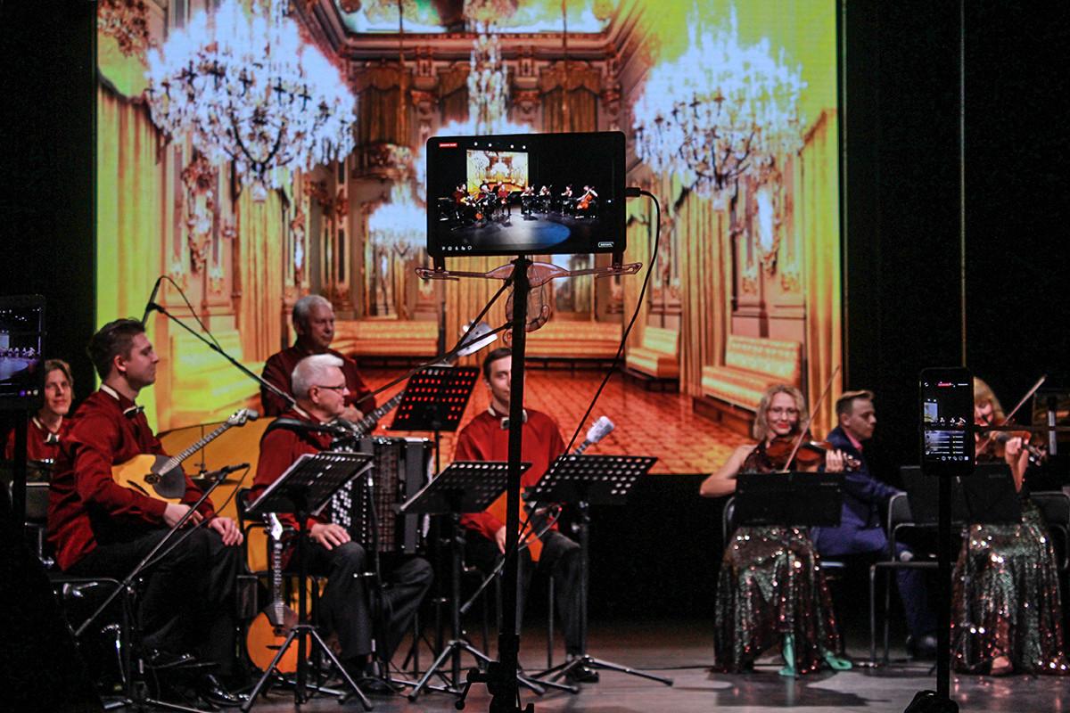 Выступление музыкальных коллективов Приморья показали на международном портале