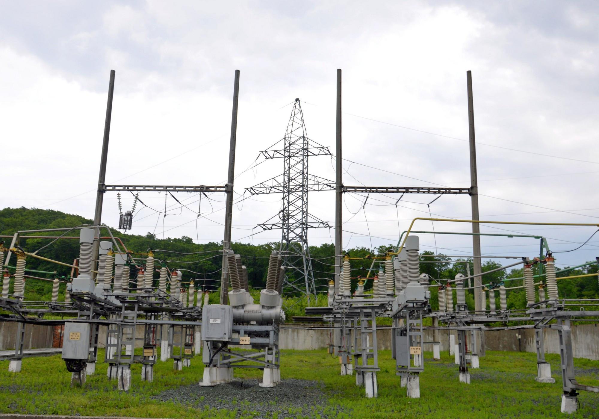 Приморские электрически сети  модернизируют подстанцию 110 кВ «Муравейка»