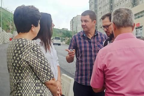 Общественные наблюдатели оценили ход ремонтных работ на дорогах Владивостока