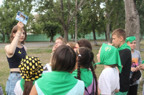 Эко-квест провели для приморских ребят в загородном лагере