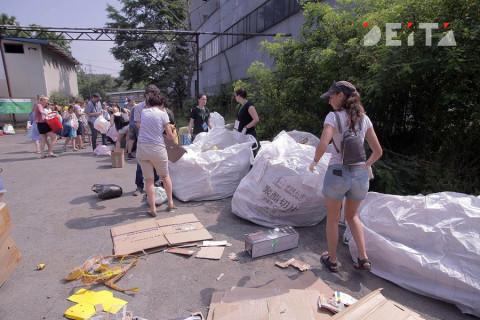 Более 30 экологических акций провели в Приморье