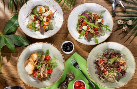 Салаты за 10 минут: для тех, у кого нет времени готовить