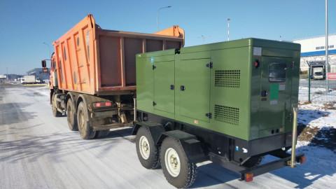 Восемь генераторов доставили во Владивосток для спасения Первомайского района