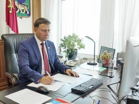 Предложение Александра Ролика поддержали в Совете Законодателей России
