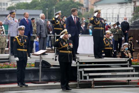 Парад Победы прошёл во Владивостоке