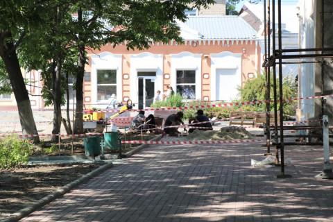 Процесс благоустройства скверов в Уссурийске проверили общественные наблюдатели
