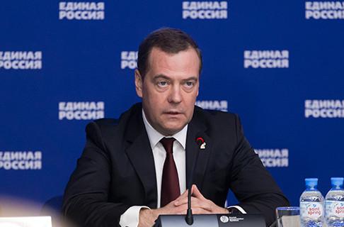 Медведев дал «Единой России» задание на осень