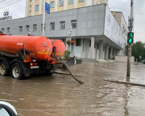 То пожары, то ливень: катаклизмы накрыли Якутию