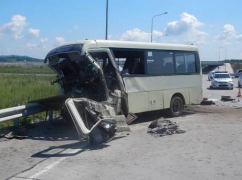 Приморец, протаранивший на внедорожнике пассажирский автобус, отправится в колонию