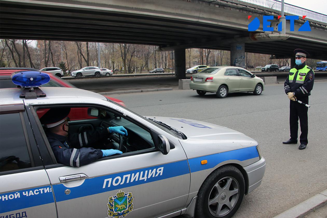 Автомобиль ГИБДД сбил ребёнка во Владивостоке