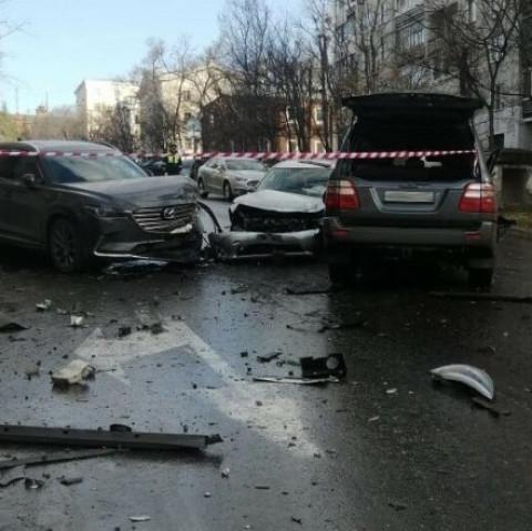 Водитель «Крузака» устроил смертельную аварию в Хабаровске