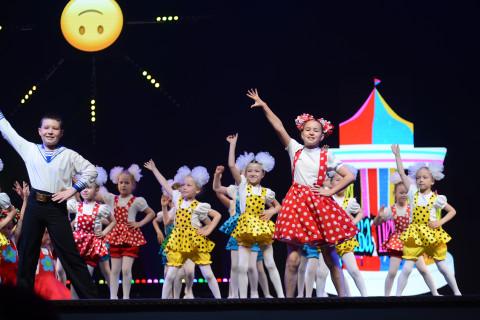 Юбилейный детский хореографический конкурс «Первые шаги» прошел во Владивостоке