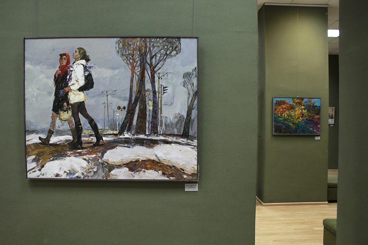 Грани творчества художника Виталия Медведева представили на персональной выставке