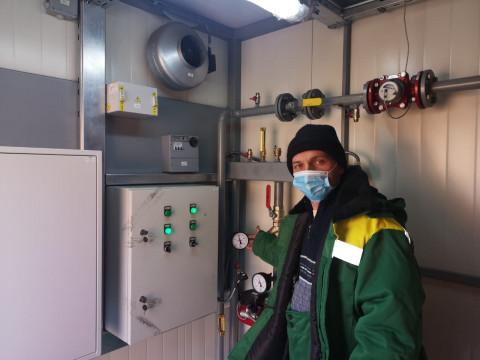 Терморобот будет спасать жителейостроваРусский от холода