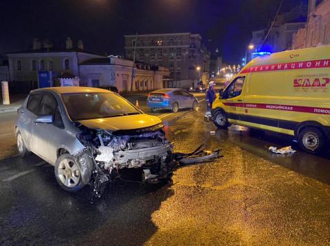 Серьезное ДТП произошло в центре Владивостока