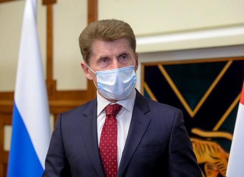 Приморский губернатор рассказал о прибавлении в семье