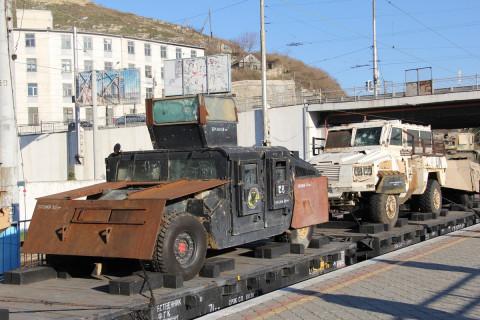 Оружие сирийских боевиков везут во Владивосток