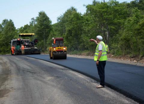 Масштабная строительная кампания в дорожной сфере была развёрнута в 2020 году в Приморье