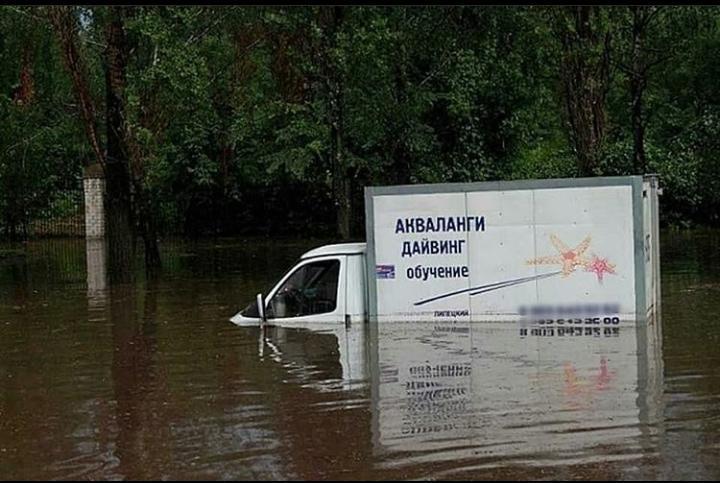 Приморье тонет: важные дороги уходят под воду