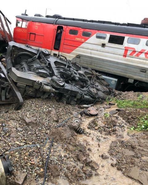 Крушение поезда в Приморье: подробности