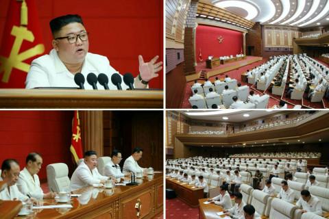Ким Чен Ын в ожидании тайфуна собрал политбюро