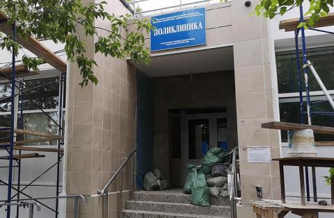 Ремонт поликлиники ветеранов завершат в октябре в Приморье