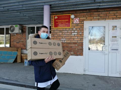 Депутат краевого парламента приобрел для больницы в Хороле обеззараживатели воздуха